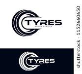 tyre shop logo design   tyre... | Shutterstock .eps vector #1152660650