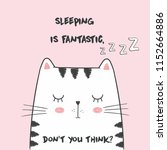 cute vector illustration with...   Shutterstock .eps vector #1152664886