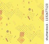 modern memphis texture.... | Shutterstock .eps vector #1152677123
