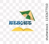 resort vector icon isolated on...   Shutterstock .eps vector #1152677510