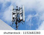 3g  4g and 5g cellular. base... | Shutterstock . vector #1152682283
