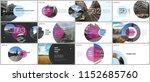 minimal presentations design ... | Shutterstock .eps vector #1152685760