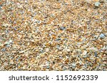 pebbles on the beach at the sea ... | Shutterstock . vector #1152692339