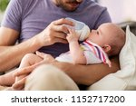 family  parenthood and people...   Shutterstock . vector #1152717200