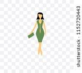 fashion female model vector... | Shutterstock .eps vector #1152720443