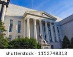 washington  dc   united states  ... | Shutterstock . vector #1152748313