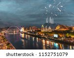 fireworks in newcastle upon...   Shutterstock . vector #1152751079