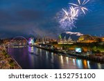 fireworks in newcastle upon...   Shutterstock . vector #1152751100
