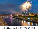 fireworks in newcastle upon...   Shutterstock . vector #1152751103