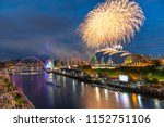 fireworks in newcastle upon...   Shutterstock . vector #1152751106