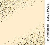 diagonal border from confetti...   Shutterstock .eps vector #1152759296