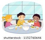 illustration of stickman kids... | Shutterstock .eps vector #1152760646