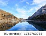 The Beautiful Lake Of Fedaia O...