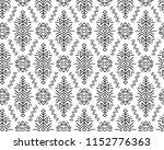 vector seamless pattern in... | Shutterstock .eps vector #1152776363
