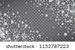 isolated snowflakes on... | Shutterstock .eps vector #1152787223