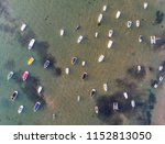 boat parking area above sandy... | Shutterstock . vector #1152813050