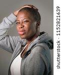 lifestyle vertical portrait of...   Shutterstock . vector #1152821639