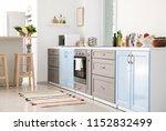 interior of modern kitchen | Shutterstock . vector #1152832499