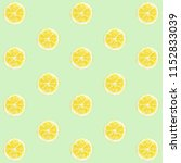 lemon pattern watercolor | Shutterstock . vector #1152833039