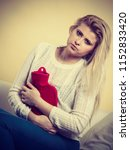 painful periods and menstrual... | Shutterstock . vector #1152833420