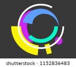 frame geometric shapes | Shutterstock .eps vector #1152836483