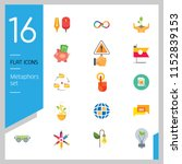 metaphors vector icon set.... | Shutterstock .eps vector #1152839153