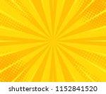 yellow retro vintage style... | Shutterstock .eps vector #1152841520