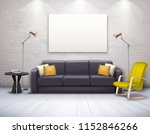 mock up of realistic modern... | Shutterstock .eps vector #1152846266