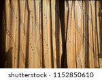close up curtain in sunny gold... | Shutterstock . vector #1152850610