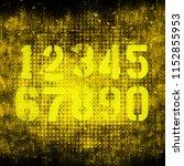 abstract grunge futuristic...   Shutterstock . vector #1152855953