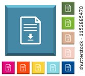 download document white icons... | Shutterstock .eps vector #1152885470