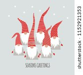 season greetings  christmas... | Shutterstock .eps vector #1152921353