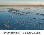 sunset in the salar de uyuni ... | Shutterstock . vector #1152923186