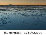 sunset in the salar de uyuni ... | Shutterstock . vector #1152923189