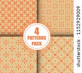 beautiful  vintage pattern... | Shutterstock .eps vector #1152929009