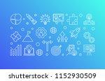 business startup vector concept ... | Shutterstock .eps vector #1152930509