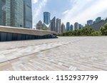panoramic skyline and modern... | Shutterstock . vector #1152937799