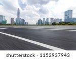panoramic skyline and modern... | Shutterstock . vector #1152937943