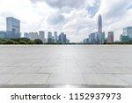 panoramic skyline and modern... | Shutterstock . vector #1152937973