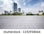 panoramic skyline and modern... | Shutterstock . vector #1152938666