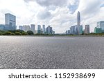 panoramic skyline and modern... | Shutterstock . vector #1152938699