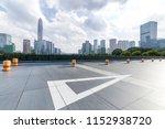 panoramic skyline and modern... | Shutterstock . vector #1152938720