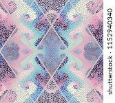 seamless background pattern.... | Shutterstock .eps vector #1152940340