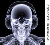Skeleton X Ray Dj  An X Ray Of...