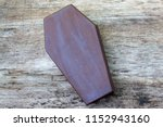 coffin leather journal  a book...   Shutterstock . vector #1152943160
