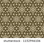 seamless lace floral background....   Shutterstock .eps vector #1152946106