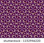 vector ornamental seamless line ...   Shutterstock .eps vector #1152946220