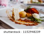 catering food decoration | Shutterstock . vector #1152948239