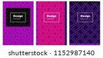 dark pink  blue vector pattern...   Shutterstock .eps vector #1152987140