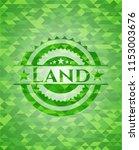 land green mosaic emblem | Shutterstock .eps vector #1153003676